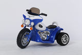 6V 4.5Ah Battery Powered Harley Style Electric Motor Trike (Model: JT568 ) RED