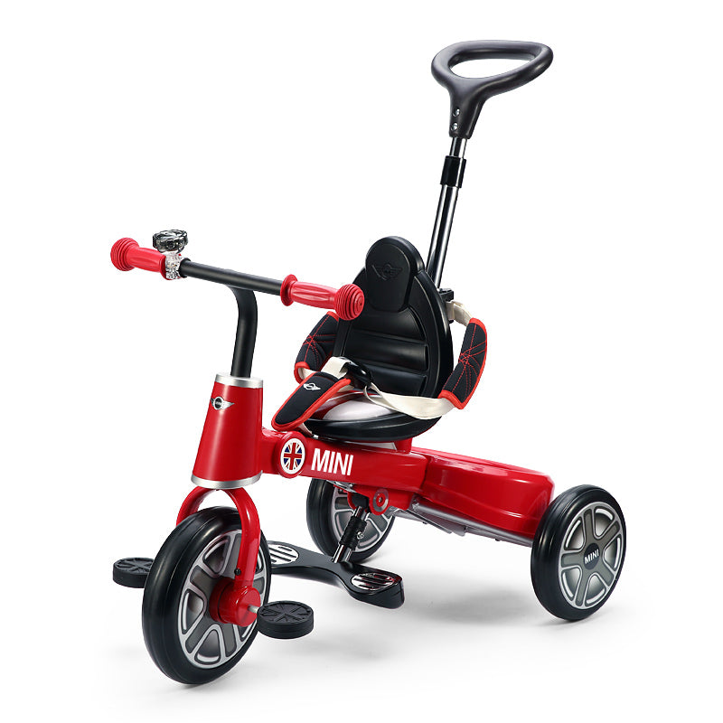 Ricco RSZ3003 RED Genuine BMW Mini Licenced Badged Foldable Tricycle Three Wheel Kids Pedal Trike