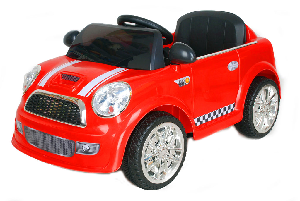 6V 15W Battery Powered Electric Ride On Mini Toy Car with Parental Remote Control (Model: S6088) RED