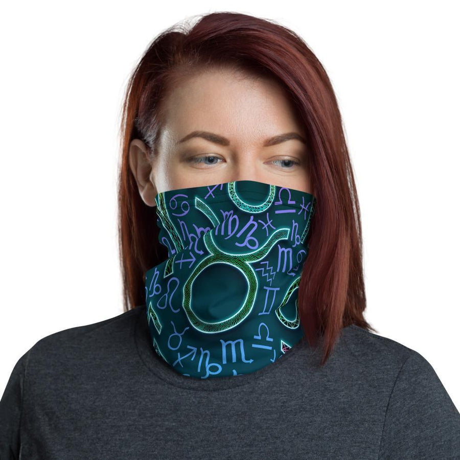 'Bright Zodiac' Neck Gaiter