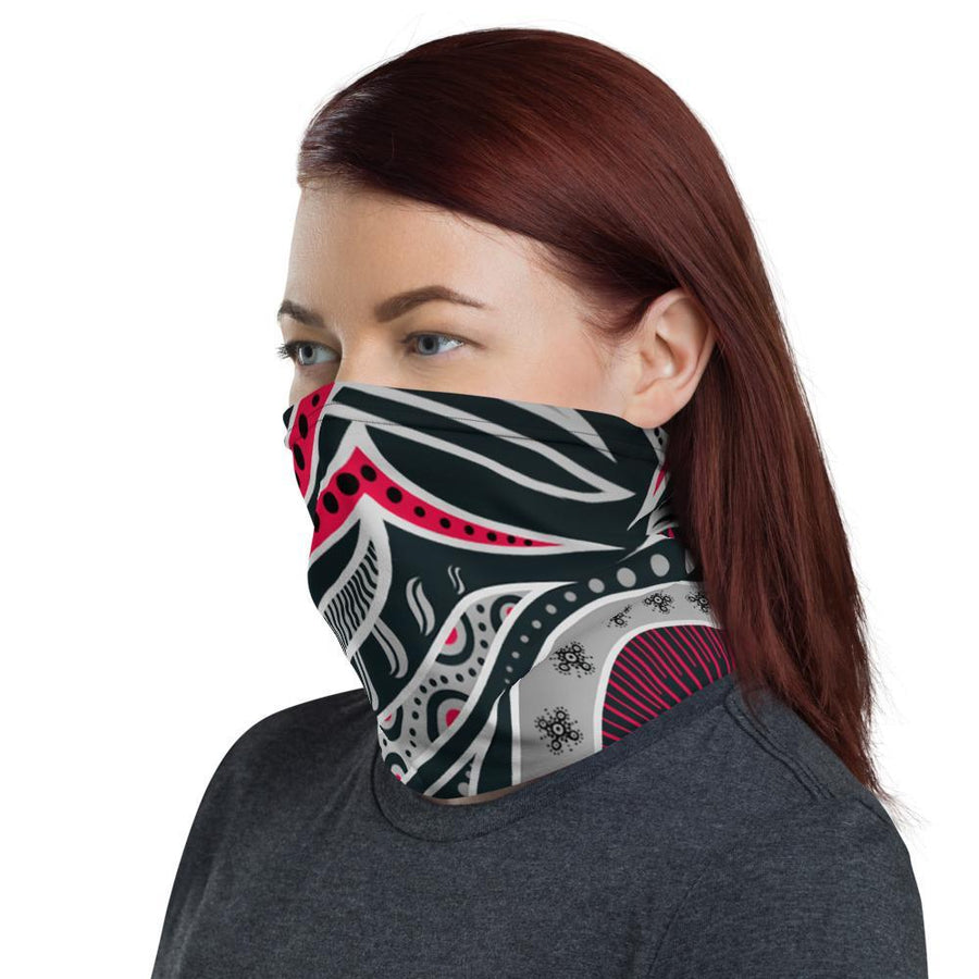 'Dark Ornamental' Neck Gaiter