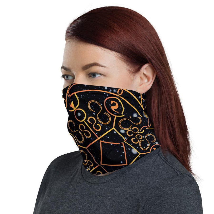 'Space Compass' Neck Gaiter