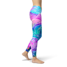 Electric Space Leggings