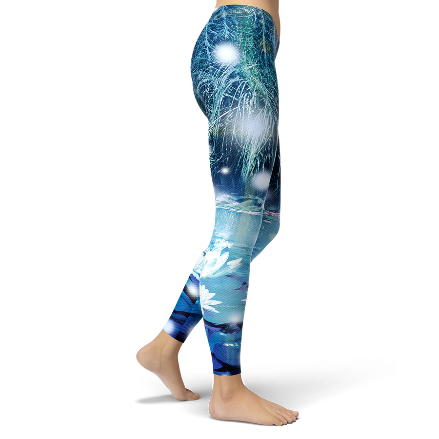 Lotus-Scape Leggings
