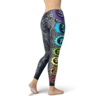Vertical Chakras Leggings