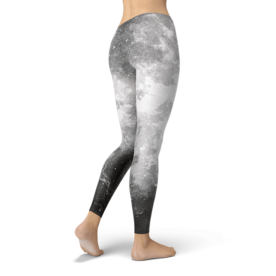 White Galaxy Leggings