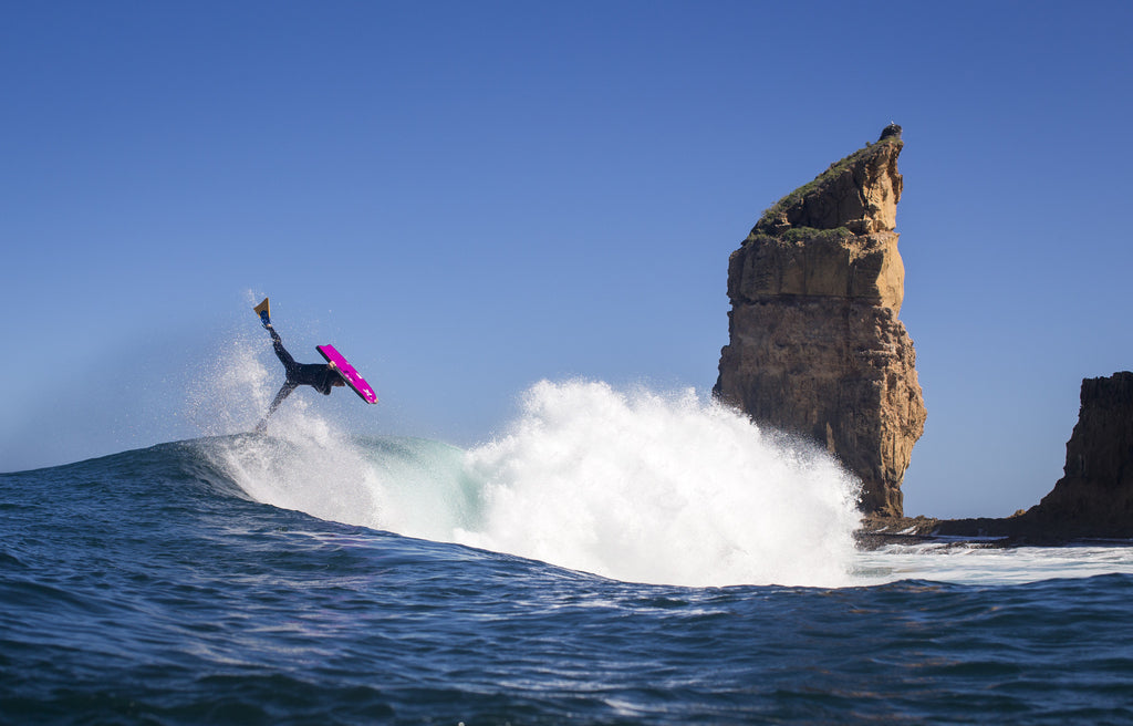 Stealth Bodyboards Nick Gornall Bearded Lady South Australia Invert Josh Tabone