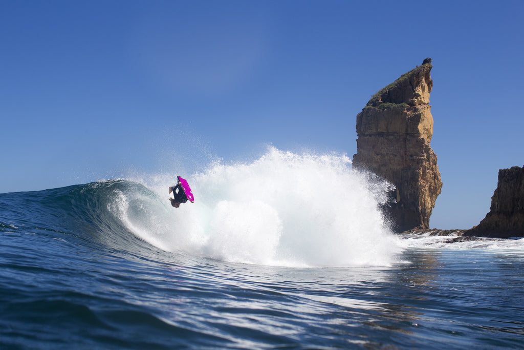 Stealth Bodyboards Nick Gornall Bearded Lady South Australia Backflip Josh Tabone