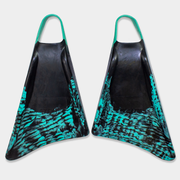 Stealth S1 Supreme Swimfins - Black / Teal