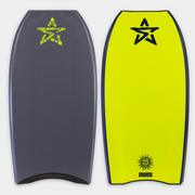 Stealth Bodyboards Online Store - Golden Child Kinetic George Humphreys - Grey / Fluro Yellow