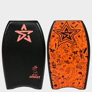 "Stealth Bodyboards Midget 22"" Black"