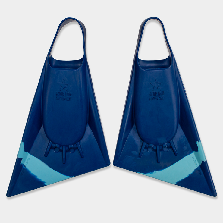 Stealth swimfins S2 Pinnacle - Navy / Ice Blue
