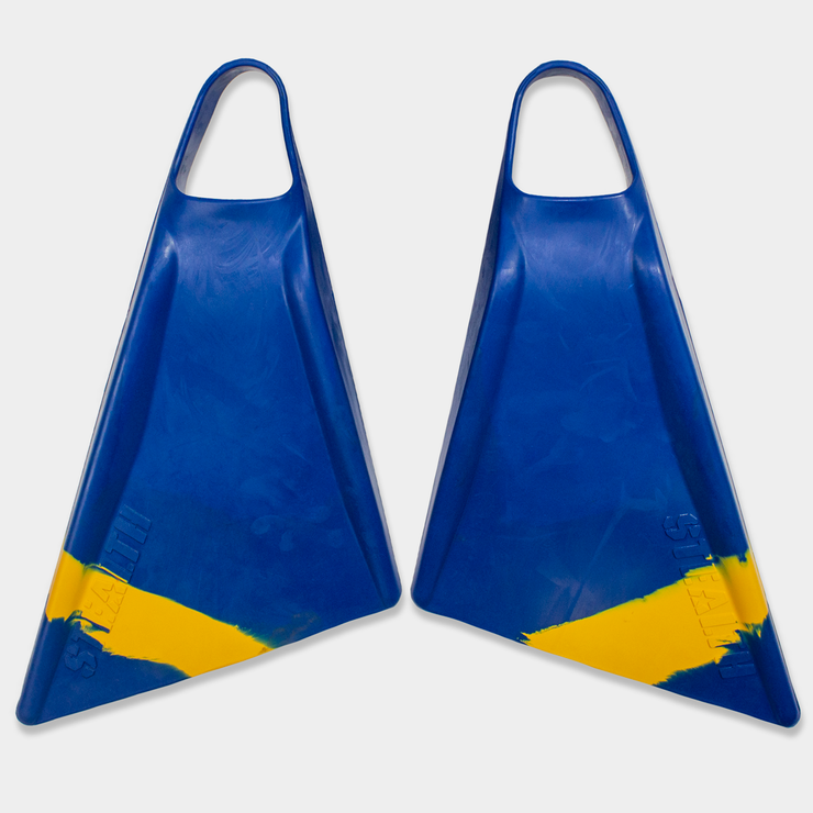 Stealt Swimfins S2 Pinnacle - Navy / Ice Blue