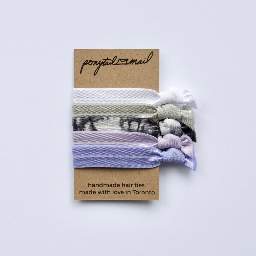 Spring Meadow Hair Ties Pack Ponytail Mail