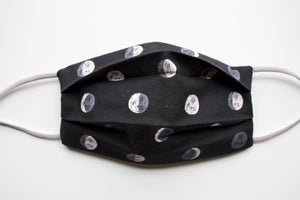 Ponytail Mail Moon Phases Cotton Mask