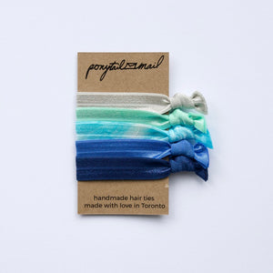 In the Sky Hair Tie Pack of 5 by Ponytail Mail