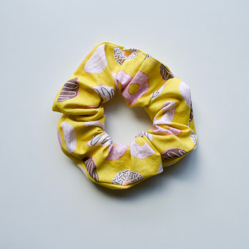 Ponytail Mail Scrunchie - Doughnuts