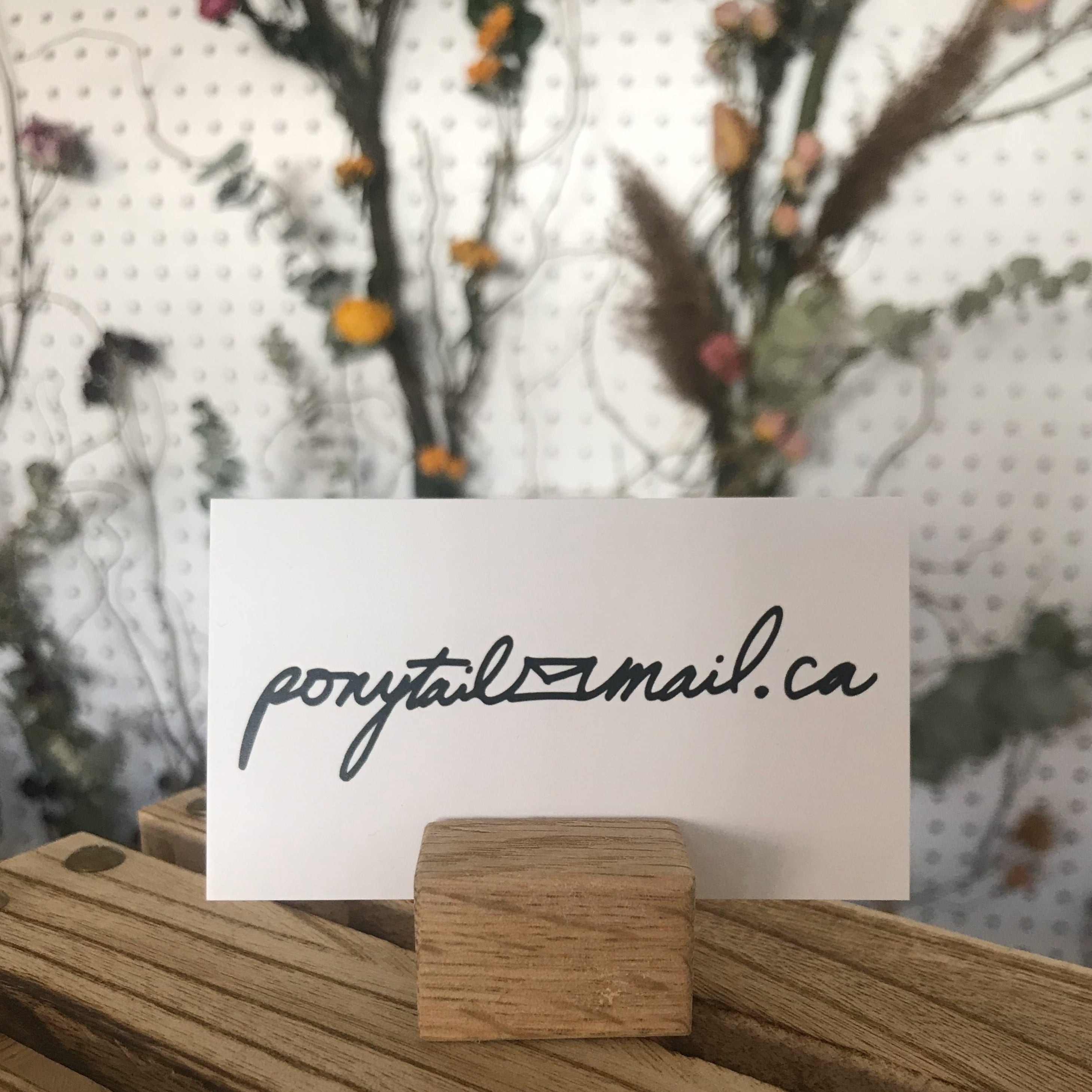 Ponytail Mail Gift Card