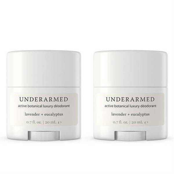 Underarmed Travel Size Two Pack (2 x 0.75 oz)