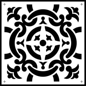 Celtic Tile Stencil - Twist My Armoire