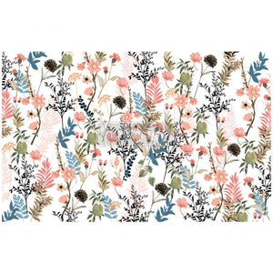Pretty Meadows Decoupage Tissue Paper