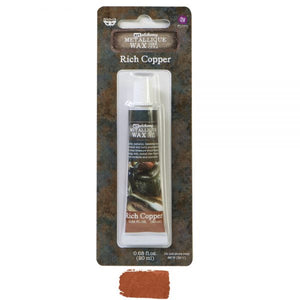 Rich Coper Metallic Wax
