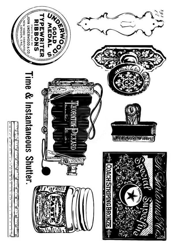 Curiosities Stamps - Twist My Armoire