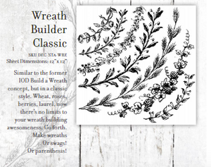 Classic Wreath Builder Stamps - Twist My Armoire