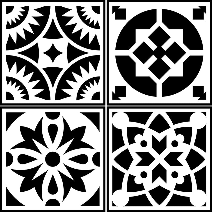 Spanish Tile ~ 4 Pack!