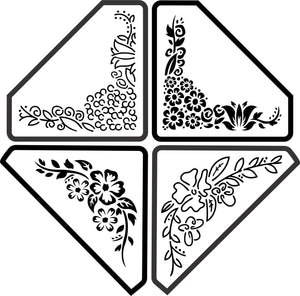 Corner Bundle Stencils - Twist My Armoire