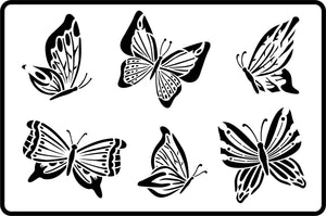 Butterflies Stencil - Twist My Armoire