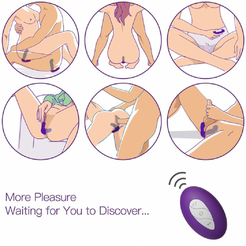 Tracy's Dog Lucky 7 Wearable Thrusting Vaginal or Anal Vibrator suggestions for use