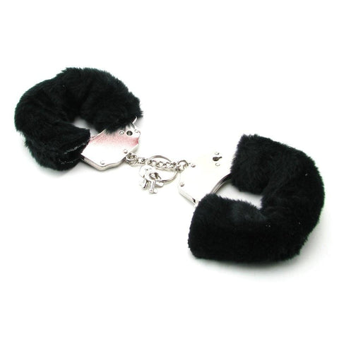 Pipedream Products Cuffs Fetish Fantasy Furry Cuffs - Black