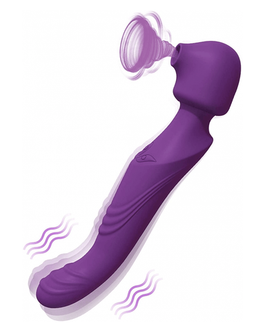 Tracy's Dog Vibrator Tracy's Dog 3 in 1 G-Spot & Clitoral Sucking Vibrator - Purple