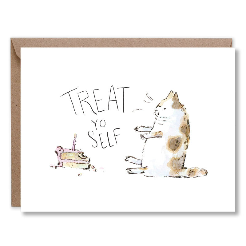 Treat Yo Self Fat Cat