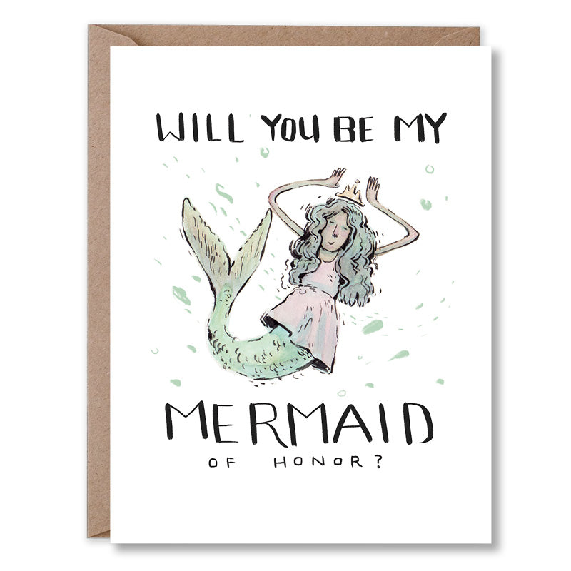 Will You Be My MerMaid of Honor?