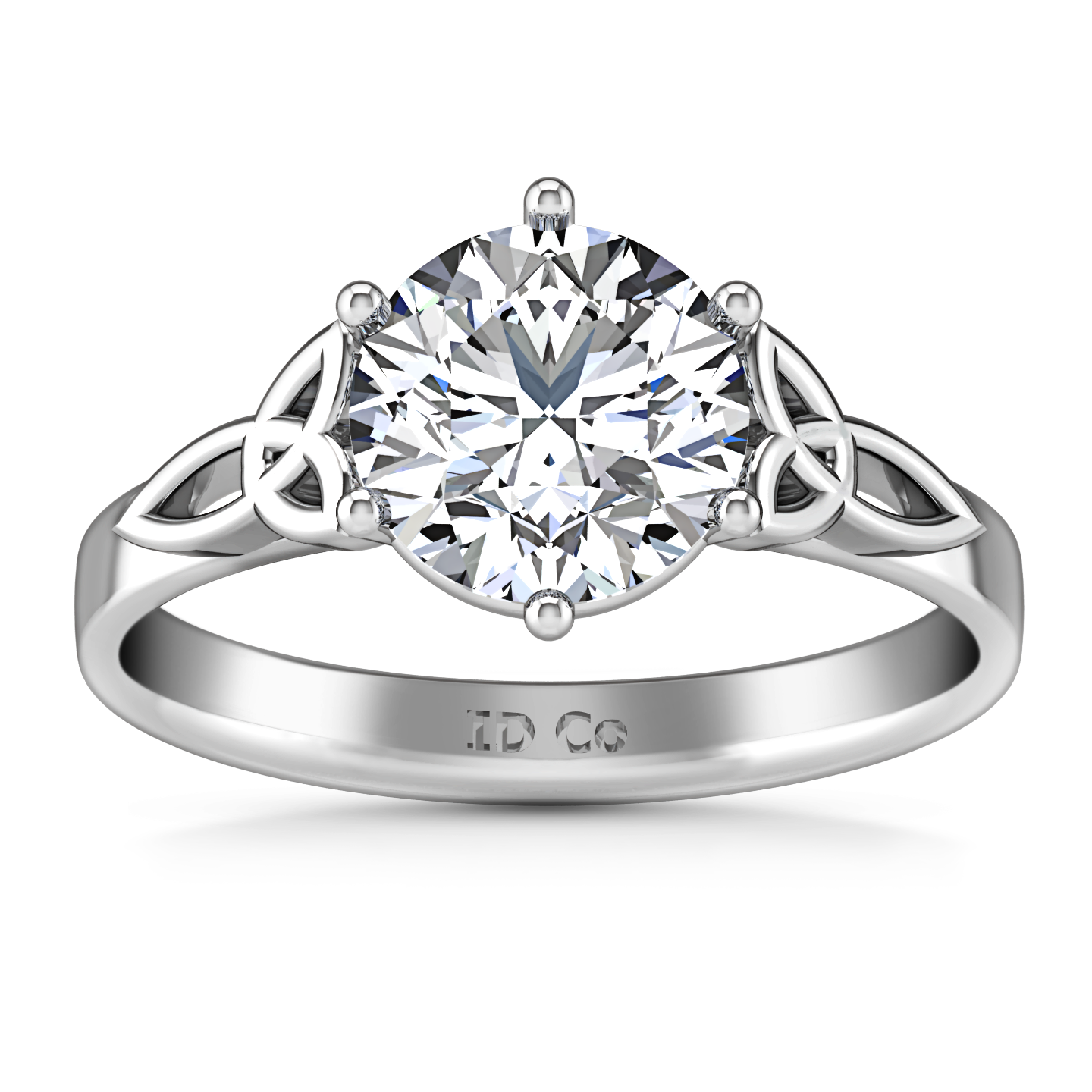wedding diamond ring engagement design knot edgeless joseph bellevue own online pav and seattle pin modern jewelry your