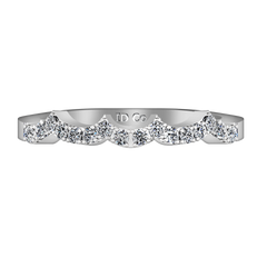 Diamond Wedding Band Chloe 0.25 Cts 14K White Gold