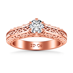 Solitaire Engagement Ring Whitney 14K Rose Gold