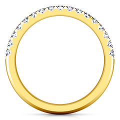 Diamond Wedding Band Jessica 0.4 Cts 14K Yellow Gold