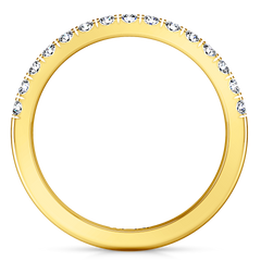 Diamond Wedding Band Mallory 0.35 Cts 14K Yellow Gold