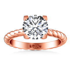Solitaire Engagement Ring Ellery 14K Rose Gold
