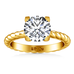 Solitaire Engagement Ring Ellery 14K Yellow Gold