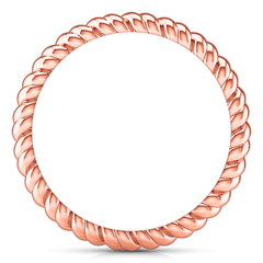 Wedding Band Ellery 14K Rose Gold