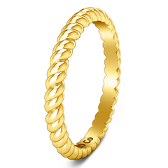 Wedding Band Ellery 14K Yellow Gold