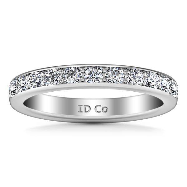 Diamond Wedding Band Allure 0.21 Cts 14K White Gold