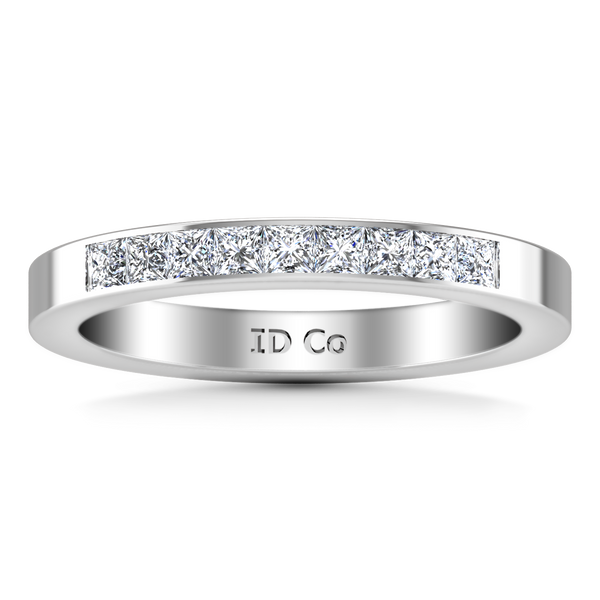 Diamond Wedding Band Rebecca 0.26 Cts 14K White Gold