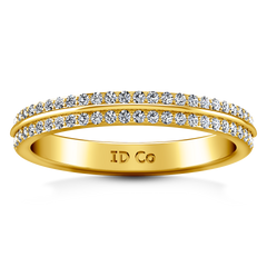 Diamond Wedding Band Amanda 0.63 Cts 14K Yellow Gold
