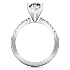 Pave Engagement Ring Grace 14K White Gold
