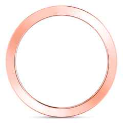 Diamond Wedding Band Calla 0.42 Cts 14K Rose Gold